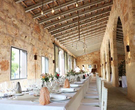 Catering bodas Mallorca