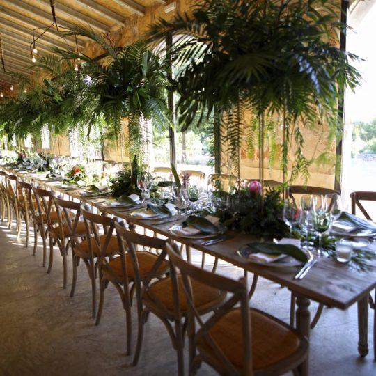 Decoración bodas | Catering Marc Fosh